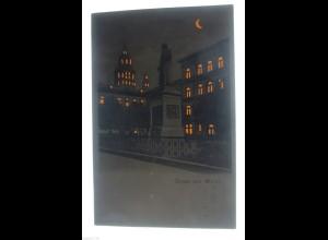 """""""Topographie, Gutenbergdenkmal, Mainz"""" 1900, Halt gegen das Licht ♥ (28596)"""
