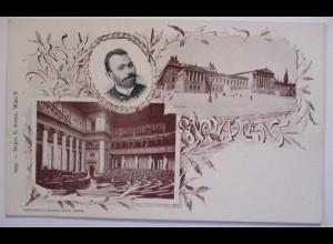 Österreich, Wien Parlament, Abgeordneter Ratny 1899 (8252)