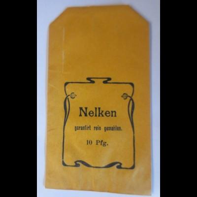 Werbung, Reklame, Tütchen, Nelken, 1920 ♥ (69994)