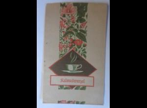 Werbung, Reklame, Tütchen, Kalmuswurzel, 1920 ♥ (70003)