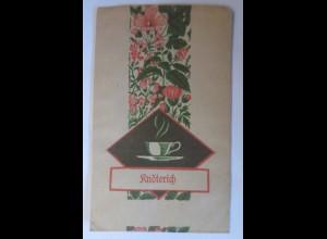 Werbung, Reklame, Tütchen, Knöterich, 1920 ♥ (70004)