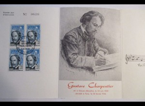 Frankreich, Gustave Charpentier, Folder 1956