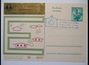 Österreich, SOS Kinderdorf Stübing bei Graz 1962