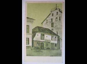 Bern, Speichergasse, Zeichnung Schüler des städt.Gymnasium 1922
