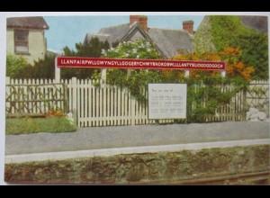 Wales, Llanfairpwllgwyngyllgogerychwyrndrobwllllantysiliogogogoch, 1978