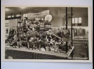 Berlin, Nahrungsmittelmesse 1956, Einzelhandel, Werbung