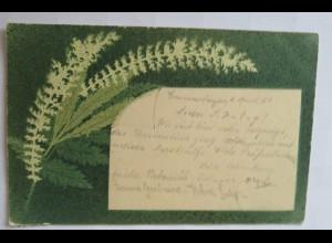 """""""Blumen, Fahn, Kunstdruck"""" 1901 ♥"""