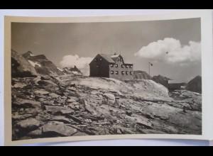 Kärnten Duisburger Hütte, Alpenverein Fotokarte Hüttenstempel (46460)