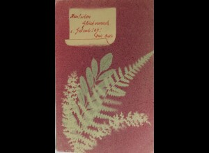 """""""Blumen, Fahn, Kunstdruck"""" 1903 ♥ (845)"""