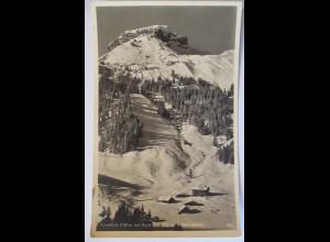 Berghütte Auenhütte Hoch Ifen, Fotokarte Hüttenstempel (27581)