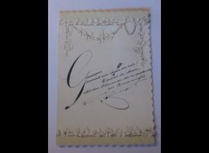 Liebesbotschaft, Kinder, Fächer, Jugendstil, 1900, Klappkarte ♥ (58008)