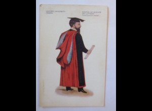 Studentika, Oxford University Robes, Doctor of Science or letters,1914 ♥