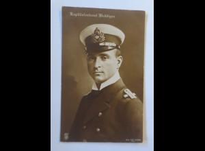 Kapitaenleutnant Weddigen Otto - U-Boot 29, Marine, 1915 ♥
