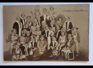 Zirkus, Schäfers Liliput Revue, 1910 ♥
