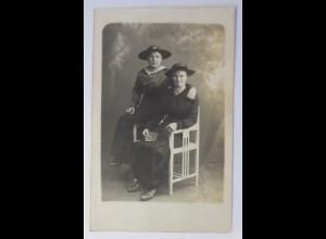 Fotokarte, Frauen, Mode, Hutmode, 1908 ♥ (71960)