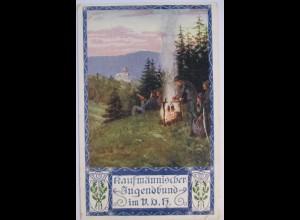 Wandern, Wandervogel, Kaufmänischer Jugendbund im VDK