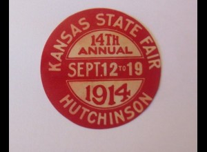 Vignetten, Kansas State Fair 1914 Hutchinson ♥ (22002)