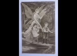 Geburt, Engel, Schutzengel, Kinder, Brücke 1917 ♥