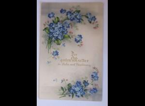 Muttertag, Blumen, Vergissmeinnicht, 1934 ♥