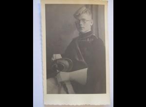 Studentika, Student, Fotokarte ca. 1930