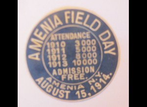 Vignetten, Siegelmarke, Amenia Field Day 1914 ♥ (6138)