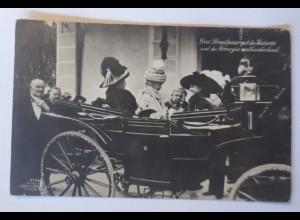 Das Brautpaar mit der Kaiserin und der Herzogin von Cumberland 1915 ♥