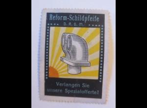 Vignetten, Reform-Schildpfeife 1914 ♥ (51815)