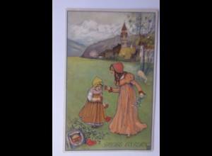 Deutscher Schulverein, Ostern, Kinder, Ostereier, 1909 ♥ (60350)