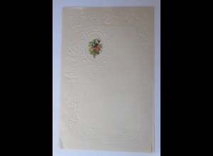 Briefpapier mit Oblate aus dem Jahr 1888, Ungebraucht ♥ (25K)