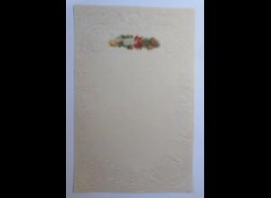 Briefpapier mit Oblate aus dem Jahr 1888, Ungebraucht ♥ (7K)