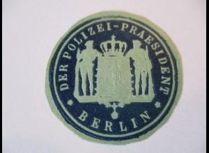 Siegelmarke D.Reich, Polizeipräsident Berlin