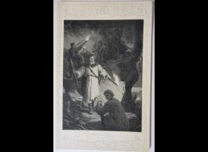 Wilhelm Tell, Abstieg vom Rütli, 1907