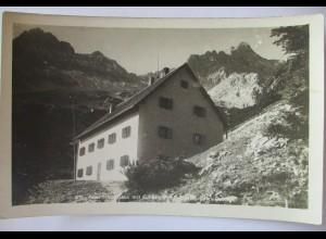 Prielschutzhaus am Großen Priel, Totes Gebirge, Fotokarte Hüttenstempel (47679)