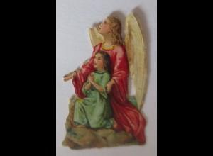 Oblaten, Engel, 1900, 4,5 cm x 3 cm ♥