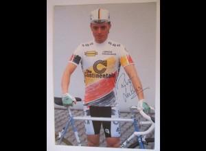 Fahrrad, Rennen, Robert Lechner, Autogrammkarte (Unterschrift gedruckt)