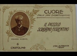 Italien, Dalle Serie Cinema (Kino,Film), Il Piccolo Scrivano, 6 Karten (21)