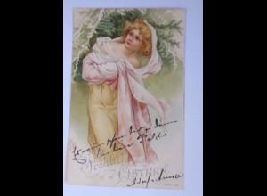 Ostern, Kinder, Mode, 1900 ♥ (63052)