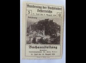 Vignetten, Bundestag der Buchbinder Österreichs Buchausstellung ♥ (23718)
