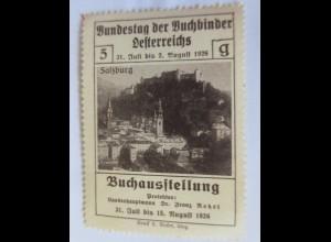 Vignetten, Bundestag der Buchbinder Österreichs Buchausstellung 1926 ♥