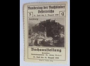Vignetten, Bundestag der Buchbinder Österreichs Buchausstellung 1926 ♥ (13809)