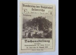 Vignetten, Bundestag der Buchbinder Österreichs Buchausstellung 1926 ♥ (23538)