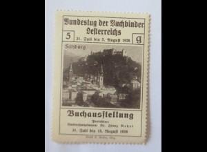 Vignetten, Bundestag der Buchbinder Österreichs Buchausstellung ♥ (18980)