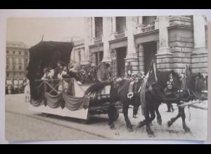 Österreich Wien, Deutscher Volkstag, Fotokarte ca. 1910