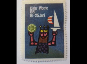 Vignetten, Kieler Woche 1961 ♥ (5453)