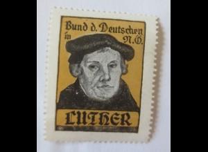 Vignetten, Bund der Deutschen Martin Luther 1914 ♥ (1389)