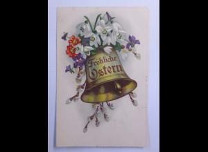 Ostern, Glocke, Blumen, Schneeglöckchen, 1930 ♥ (63100)