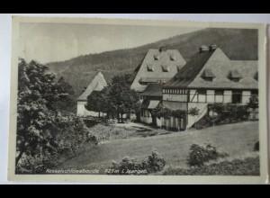 Giehren in Schlesien, Die Kesselschloßbaude im Isergebirge, 1938