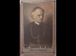 Religion, Bistum Regensburg, Bischof Antonius von Henle ca. 1910