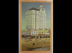 USA, Hilton Hotel Long Beach, Kalifornien 1957