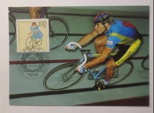 Maximumkarte Für den Sport Radrennen ♥ 1991 ♥ (5766)